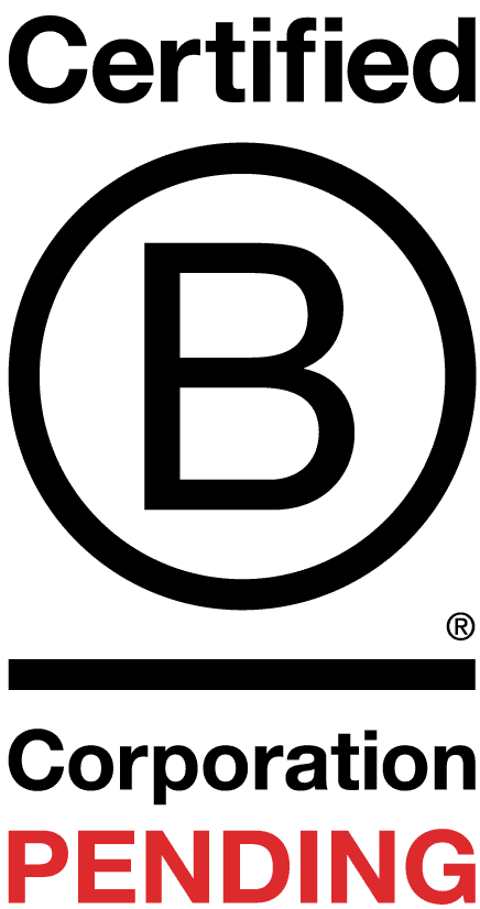 Certified B Corporation Logo for Big Sky Recycling